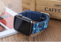 Apple Watch Camo Putty Bandy Watchband Stand