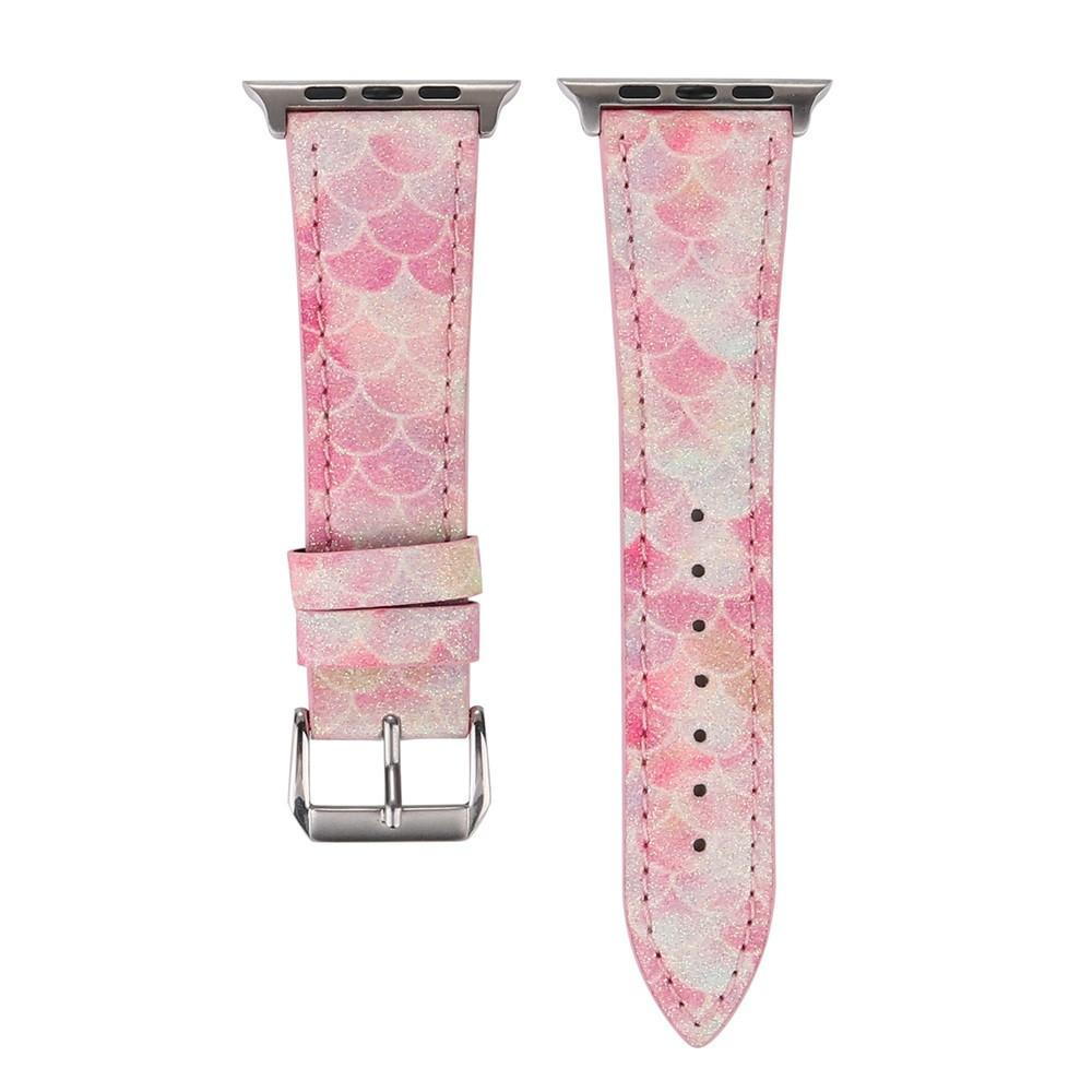 Apple Watch LTHR Scale Band Watchband Stand pink 38mm