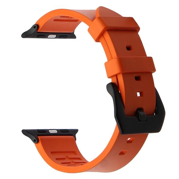Apple Watch THICKNESS Band Watchband Stand Orange B 38mm