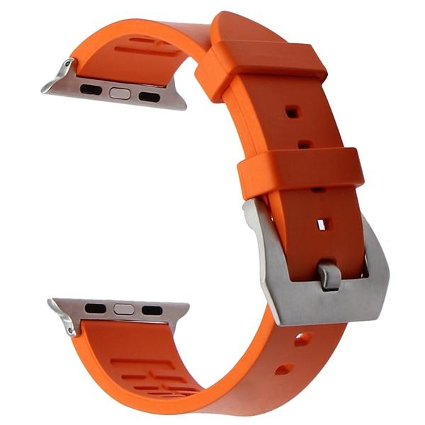 Apple Watch THICKNESS Band Watchband Stand Orange S 38mm