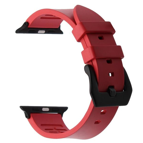 Apple Watch THICKNESS Band Watchband Stand Rose Red B 38mm