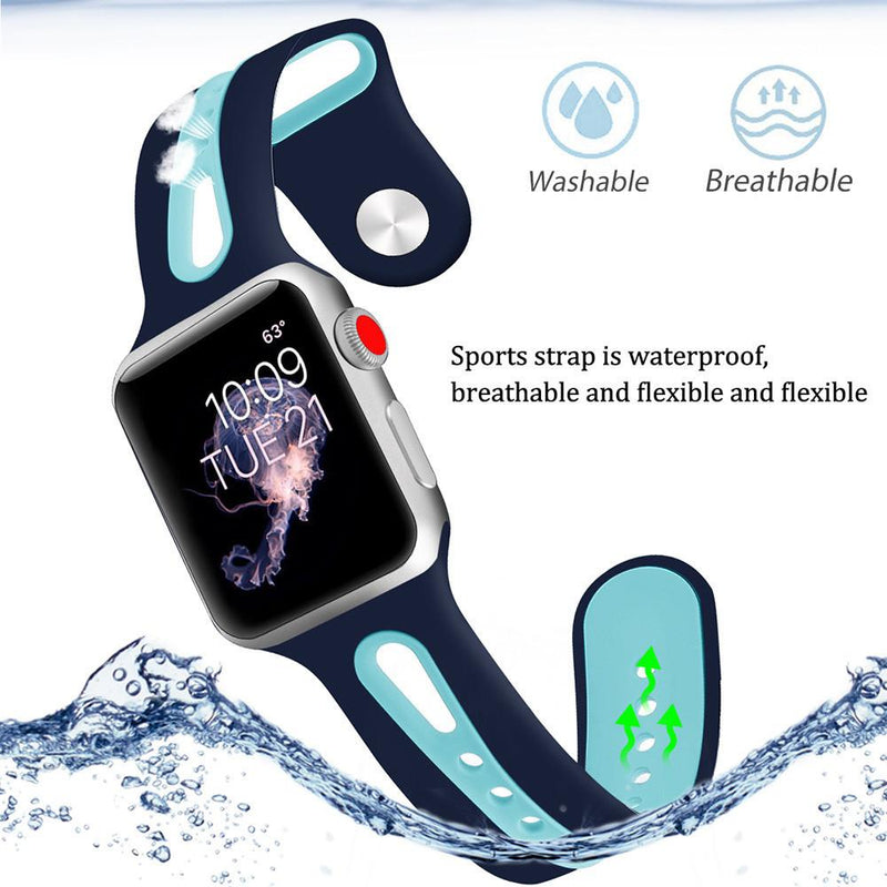 Apple Watch Silicone Bracelet Watch WatchBandStand