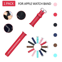 Apple Watch Soft Weave Silicone Sport Band WatchBandStand