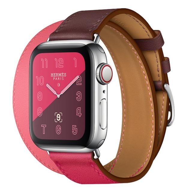 Apple Watch Double Trouble WatchBand Stand Double Rose Red 42mm