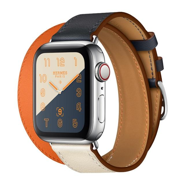 Apple Watch Double Trouble WatchBand Stand Double Orange 42mm