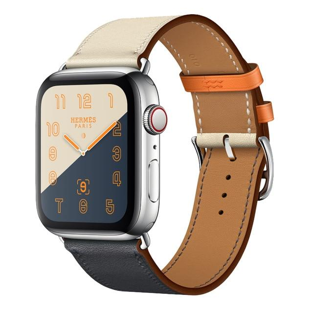 Apple Watch Double Trouble WatchBand Stand Single Orange 42mm