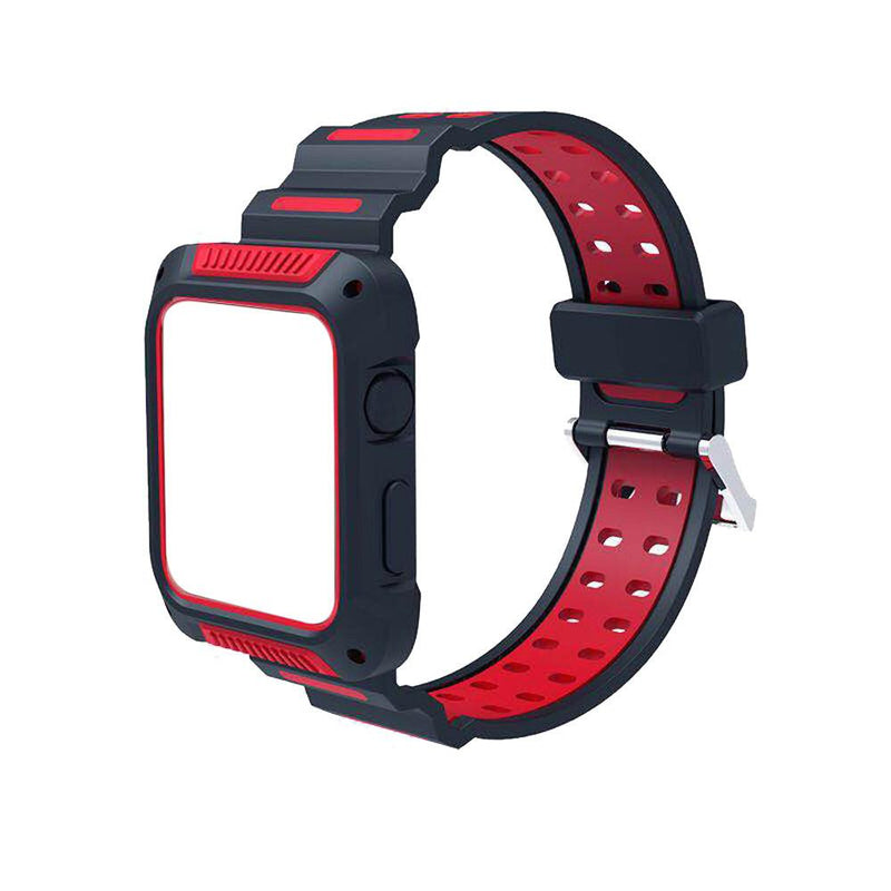Apple Watch Silicone Sports Bands WatchBandStand Red