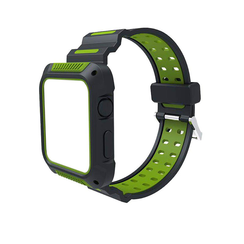 Apple Watch Silicone Sports Bands WatchBandStand Green