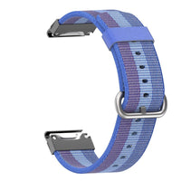 Garmin Nylon Strap for Garmin Forerunner935 WatchBand Stand Blue