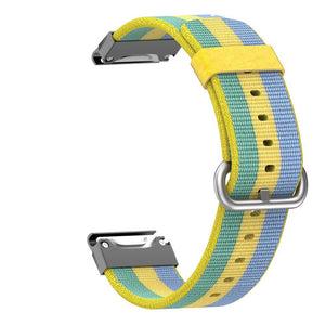 Garmin Nylon Strap for Garmin Forerunner935 WatchBand Stand Yellow