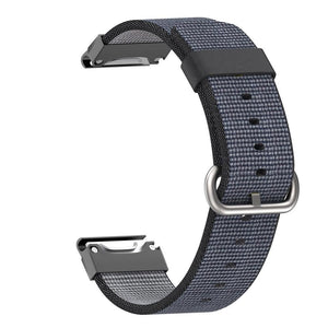 Garmin Nylon Strap for Garmin Forerunner935 WatchBand Stand Black;