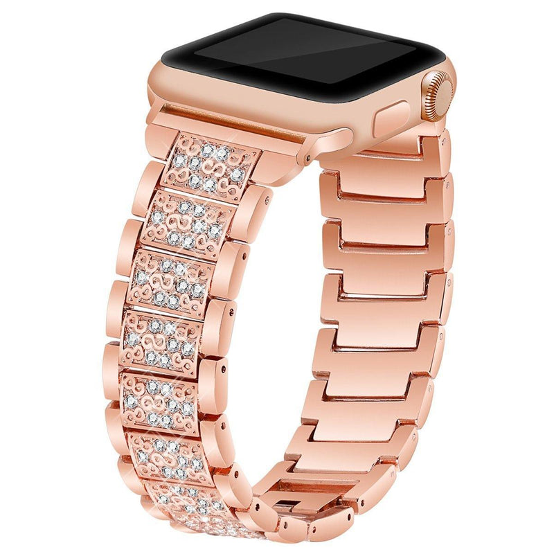 Apple Watch Diamond Strip Band Watchband Stand