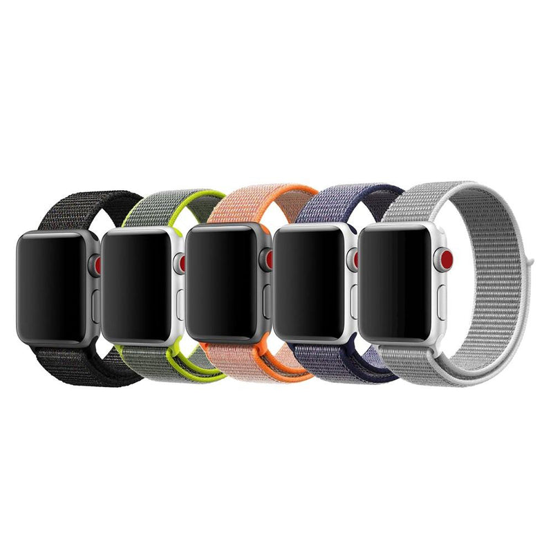Apple Watch Nylon Woven Sport Loop WatchBandStand