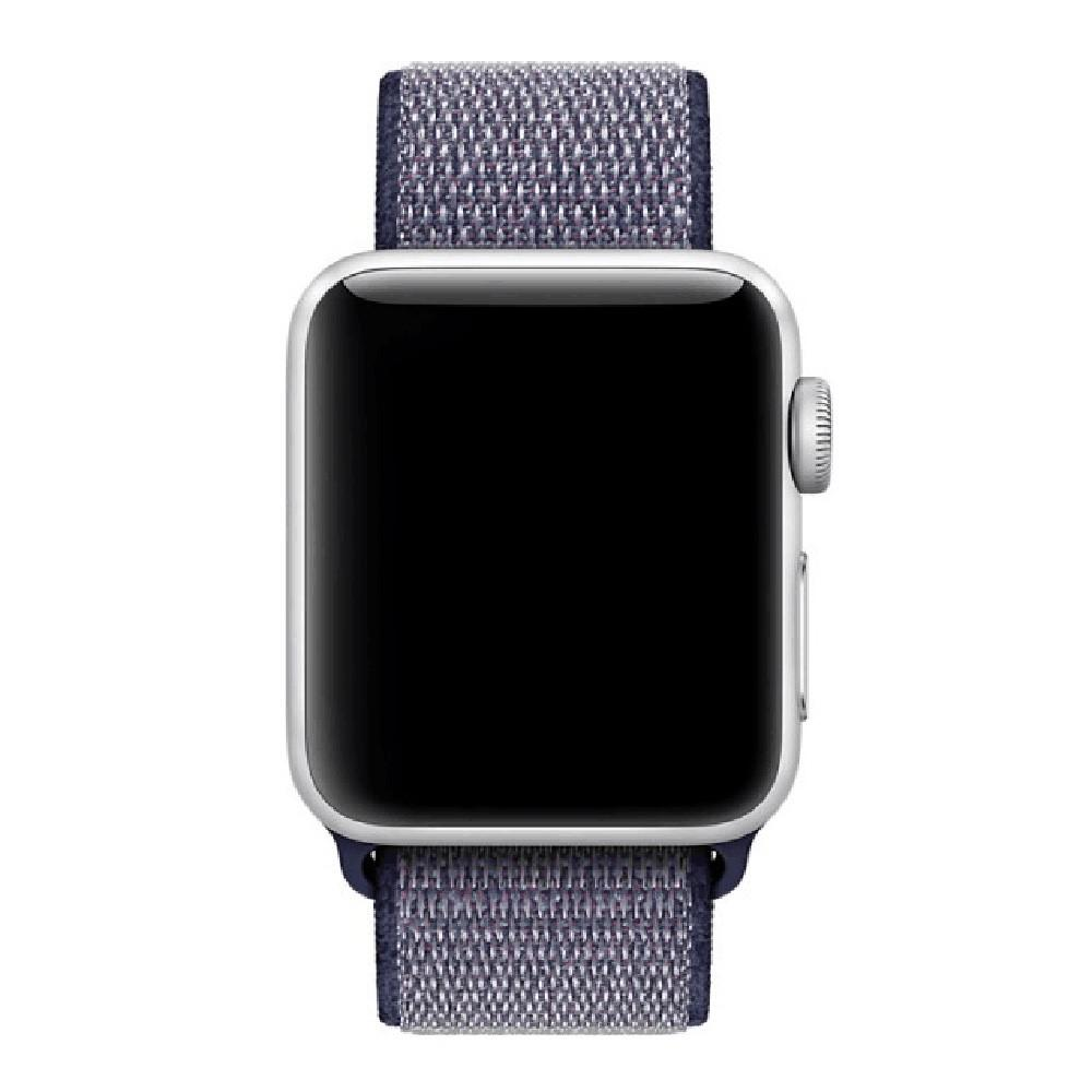 Apple Watch Nylon Woven Sport Loop WatchBandStand Blue 38mm