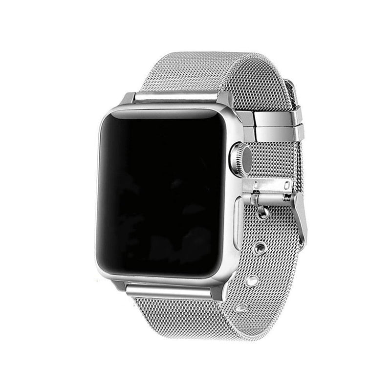 Apple Watch Steel Buckle Band WatchBandStand silver 38 mm