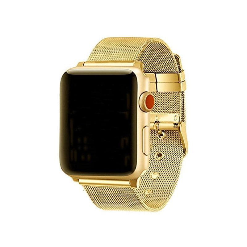 Apple Watch Steel Buckle Band WatchBandStand gold 38 mm