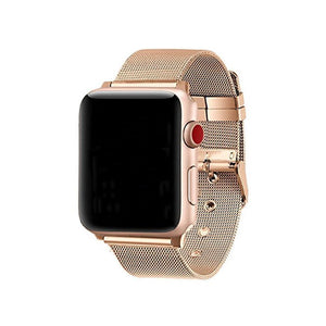 Apple Watch Steel Buckle Band WatchBandStand rosegold 38 mm