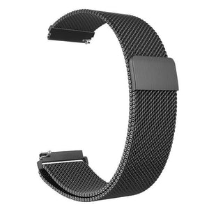 Samsung Gear Milanese Band WatchBand Stand Black 20mm or S2 classic