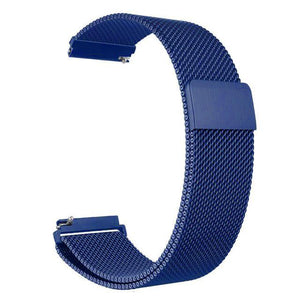 Samsung Gear Milanese Band WatchBand Stand Blue 20mm or S2 classic