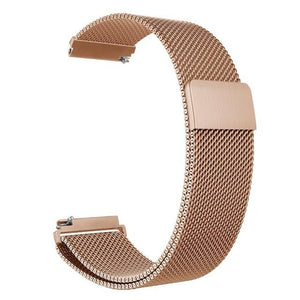 Samsung Gear Milanese Band WatchBand Stand Rose Gold 20mm or S2 classic