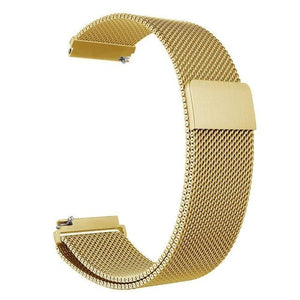 Samsung Gear Milanese Band WatchBand Stand Gold 20mm or S2 classic