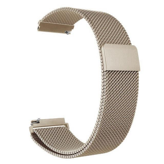 Samsung Gear Milanese Band WatchBand Stand Retro Gold 20mm or S2 classic