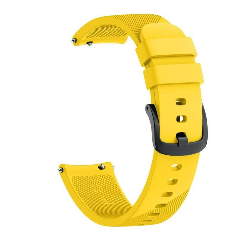 Samsung Gear S4 Sports Bracelet Strap WatchBandStand Yellow