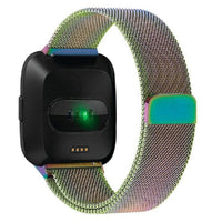 Fitbit Versa Milanese Band WatchBand Stand Colorful 24cm