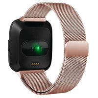 Fitbit Versa Milanese Band WatchBand Stand Rose Gold 24cm