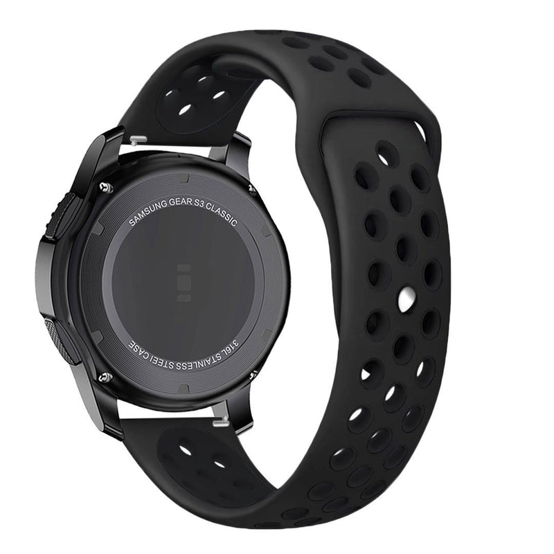 Samsung Gear Perforated Silicone WatchBand Stand