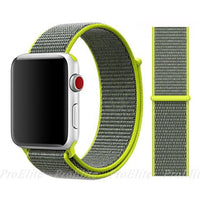 Apple Watch Nike Breathable Replacement Strap Watchband Stand Color2 Flash For 38MM and 40MM