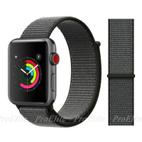 Apple Watch Nike Breathable Replacement Strap Watchband Stand Color8 Dark Olive For 38MM and 40MM