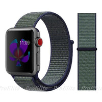 Apple Watch Nike Breathable Replacement Strap Watchband Stand Color19 midnight fog For 38MM and 40MM