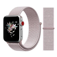 Apple Watch Nike Breathable Replacement Strap Watchband Stand Color40 Rose Pink For 38MM and 40MM