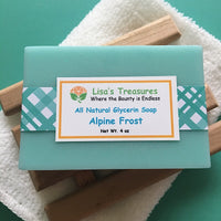 Lisa's Treasrues Alpine Frost Soap
