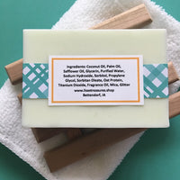 Lisas's Treasures Alpine Frost Soap ingredients