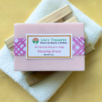 Lisa's Treasures Amazing Grace Soap