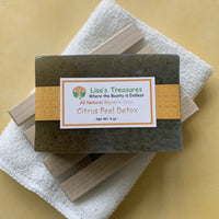 Lisa's Treasures Citrus Peel Detox Soap