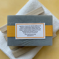 Lisa's Treasures Citrus Peel Detox Soap ingredients