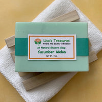 Lisa's Treasures Cucumber Melon Soap