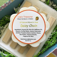 Lisa's Treasures Daisy Chain Soap ingredients