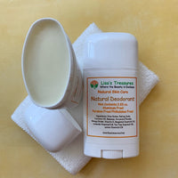 Lisa's Treasures Natural Deodorant