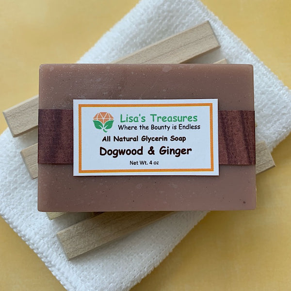 Lisa's Treasures Dogwood & Ginger Soap