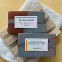 Lisa's Treasures Rose Clay Facial Detox  Soap