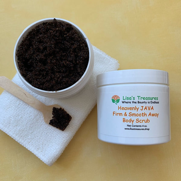 Heavenly JAVA Firm & Smooth Away Body Scrub