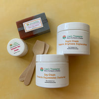 Lisa's Treasures Four Piece Set with Rose Clay Soap