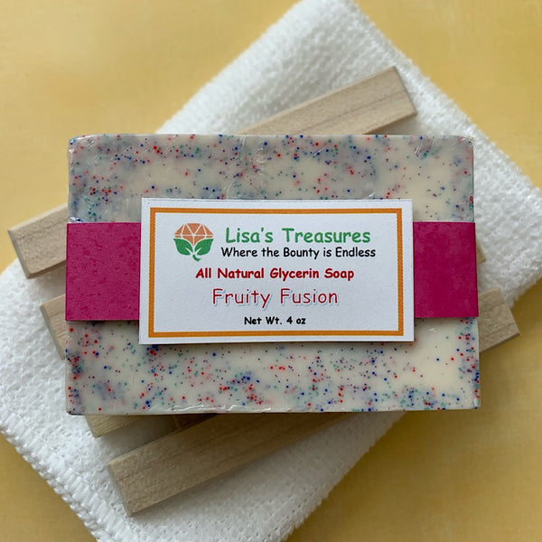 Lisa's Treasures Fruity Fusion Soap