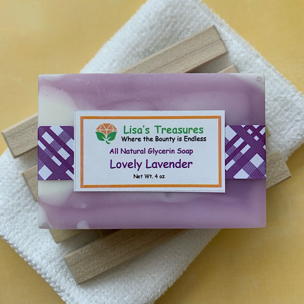 Lisa's Treasures Lovely Lavender Soap