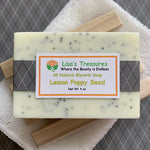 Lisa's Treasures Lemon Poppy Seed Soap