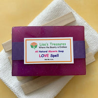 Lisa's Treasures Love Spell Soap